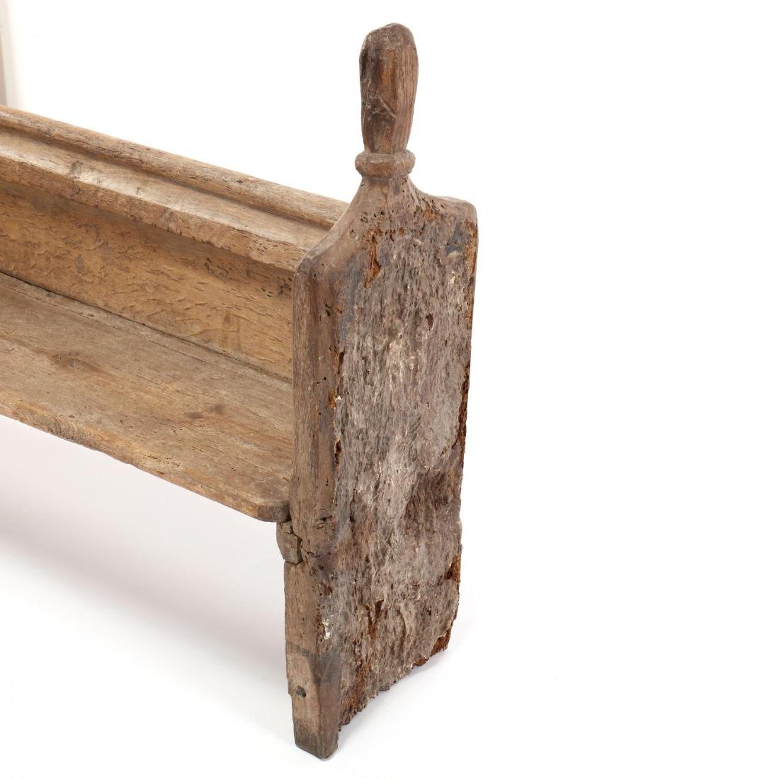 Two Continental 18th Century Pew Benches - 5