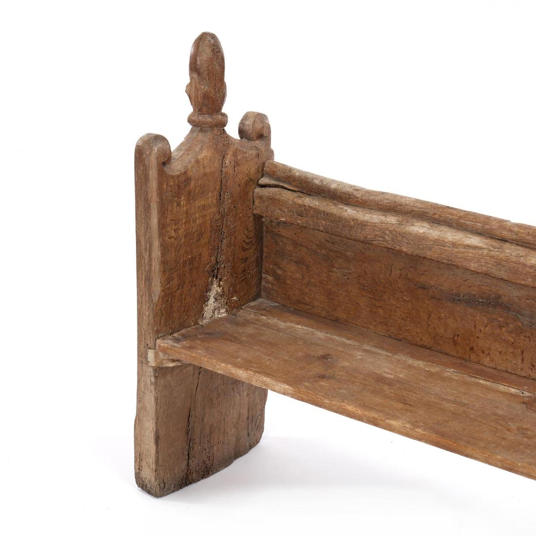 Two Continental 18th Century Pew Benches - 9
