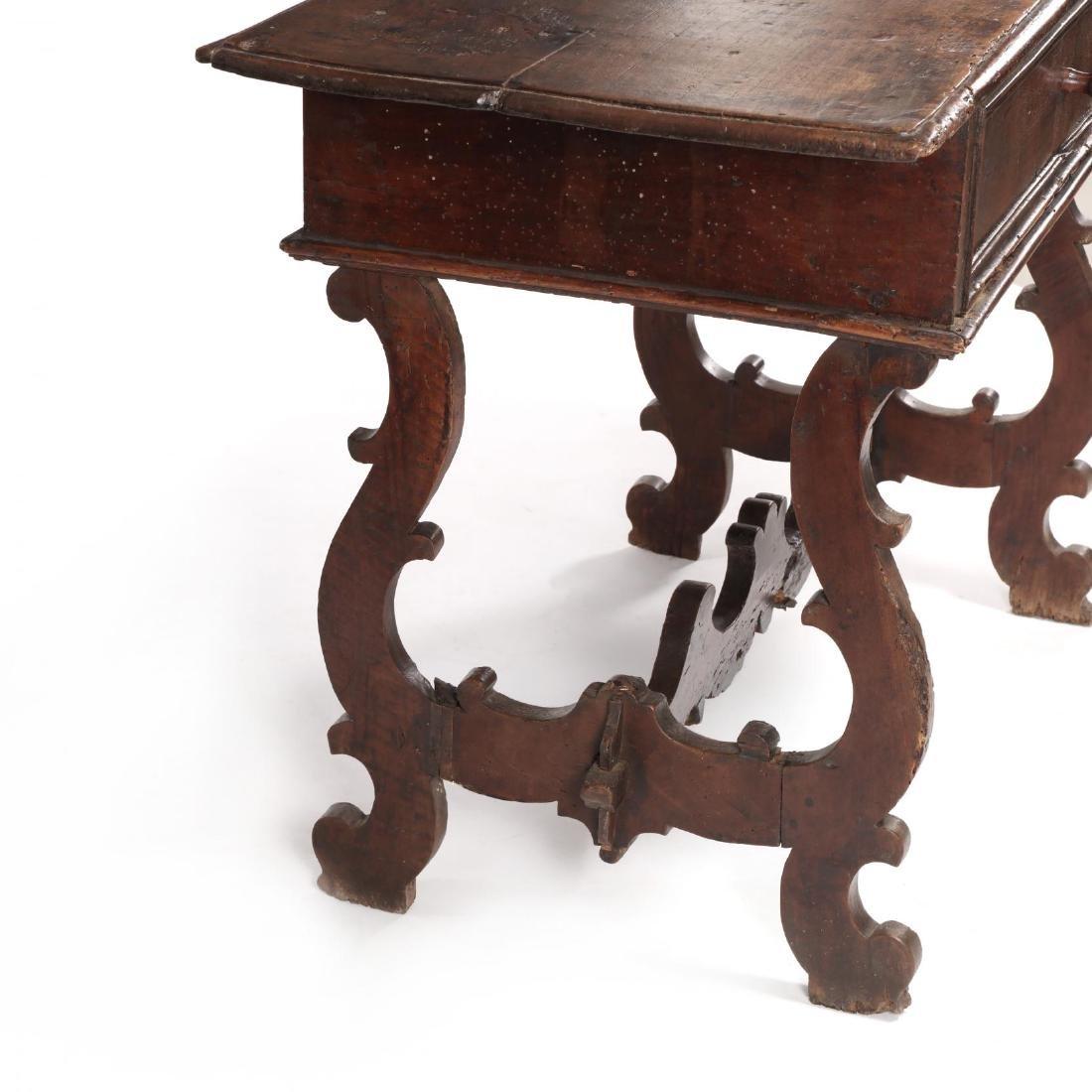Spanish Baroque Walnut Serving Table - 3