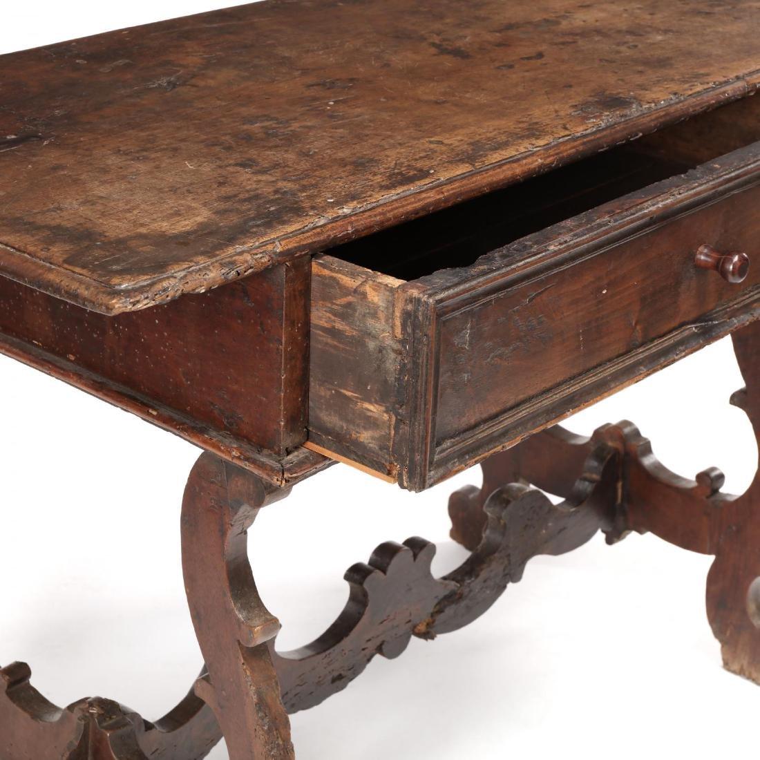 Spanish Baroque Walnut Serving Table - 4