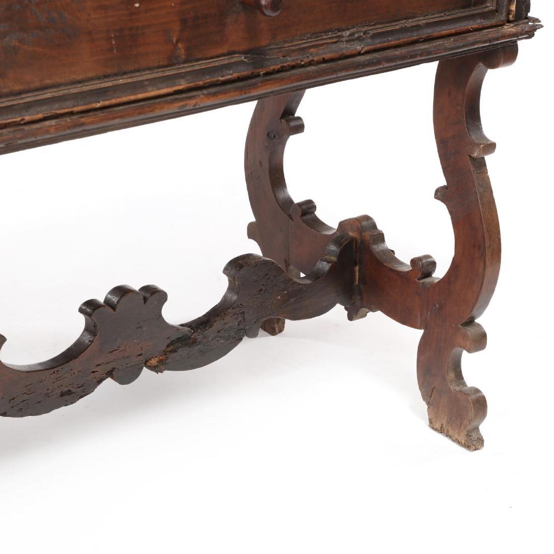 Spanish Baroque Walnut Serving Table - 5