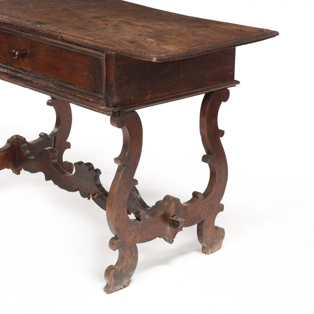 Spanish Baroque Walnut Serving Table - 6