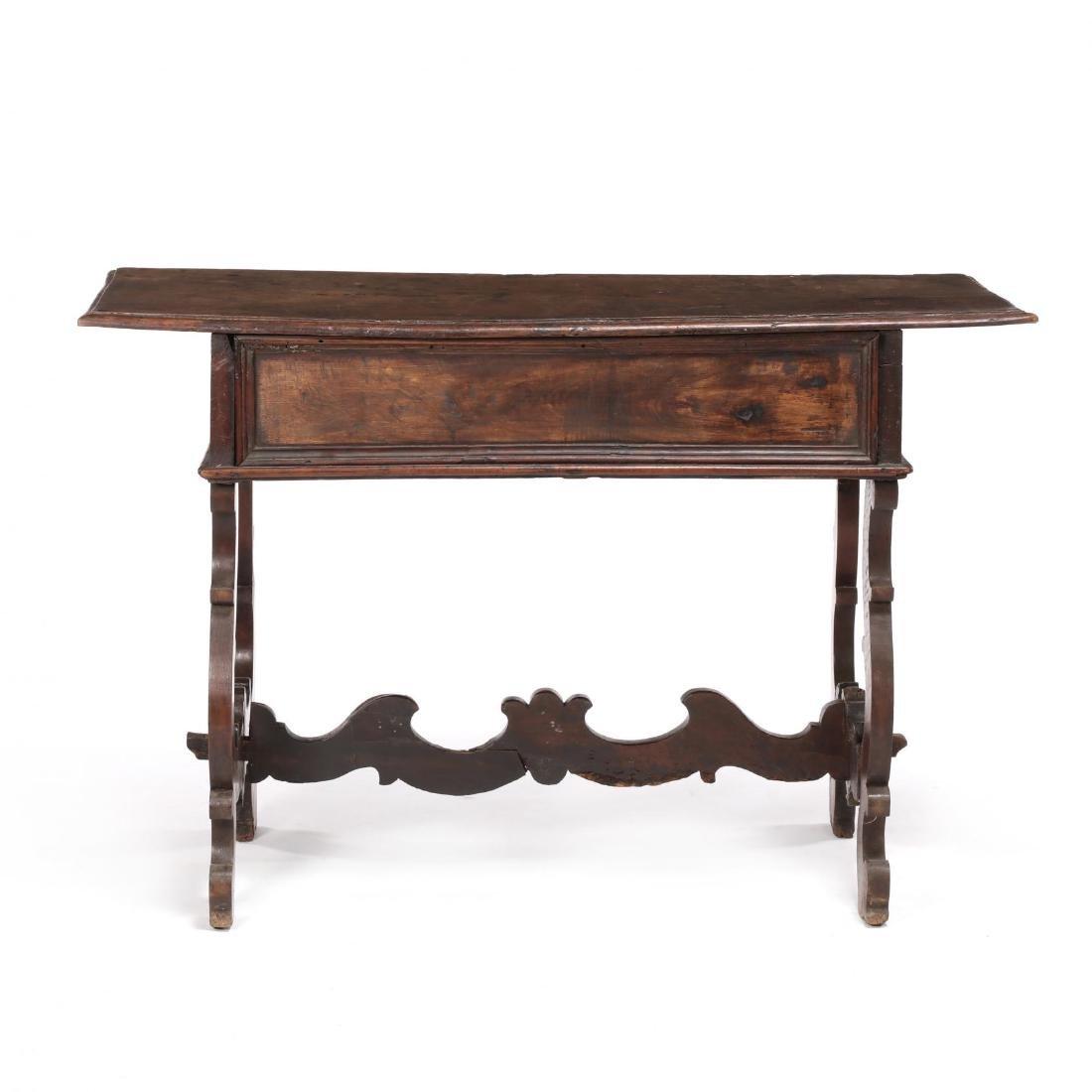 Spanish Baroque Walnut Serving Table - 8