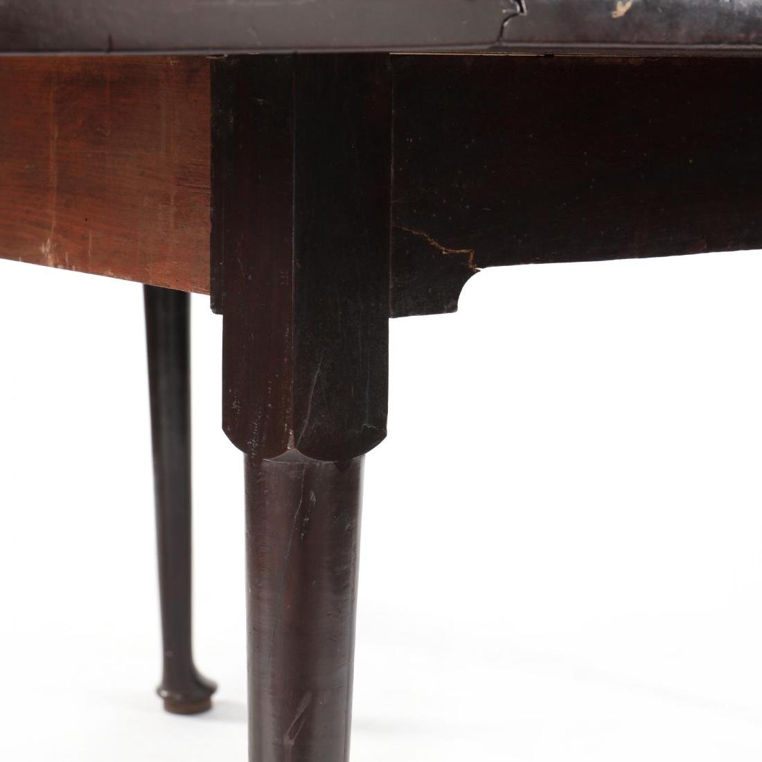 George II Mahogany Drop Leaf Dining Table - 5