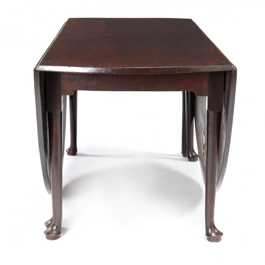 George II Mahogany Drop Leaf Dining Table - 7