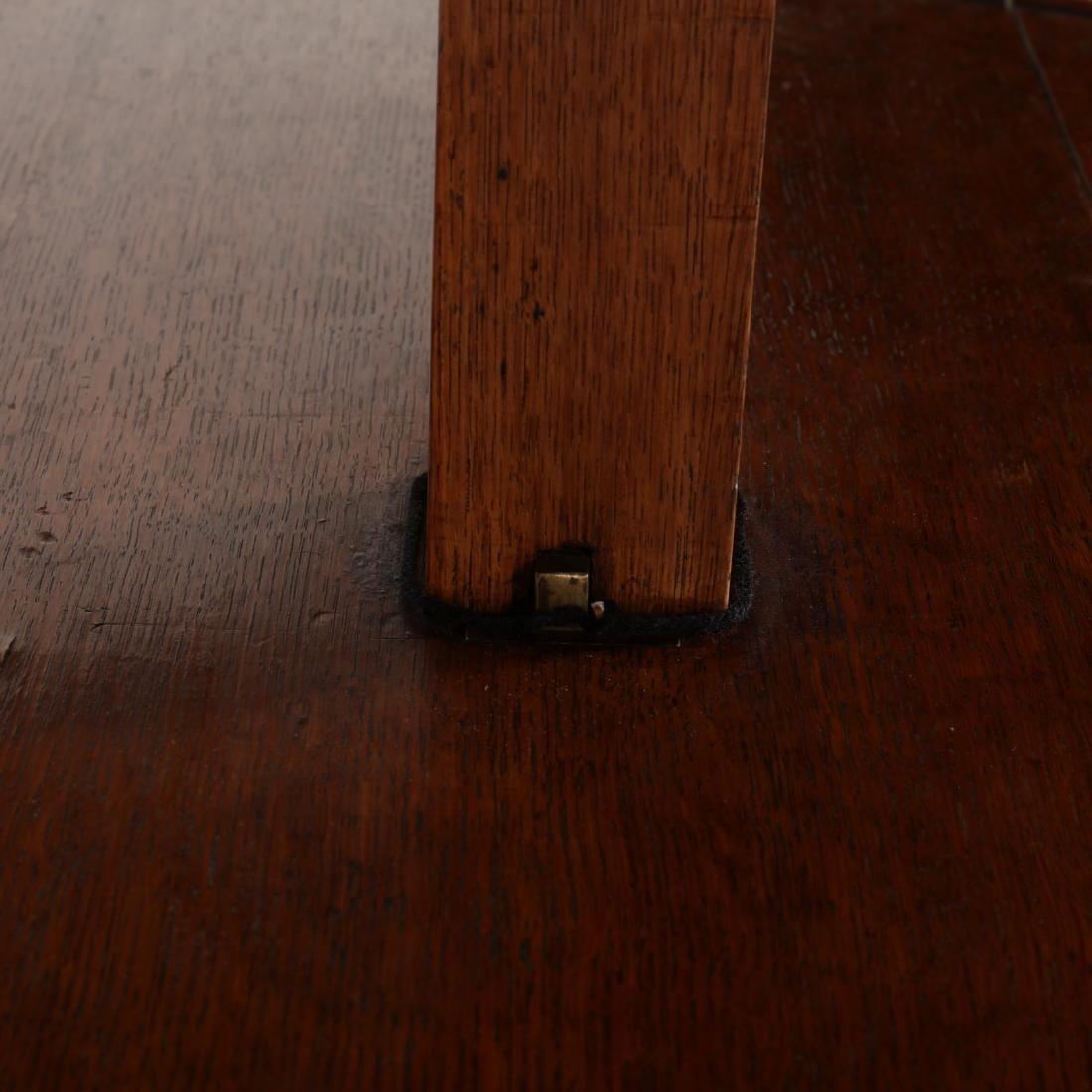 Edwardian Oak Metamorphic Tiered Serving Table - 6