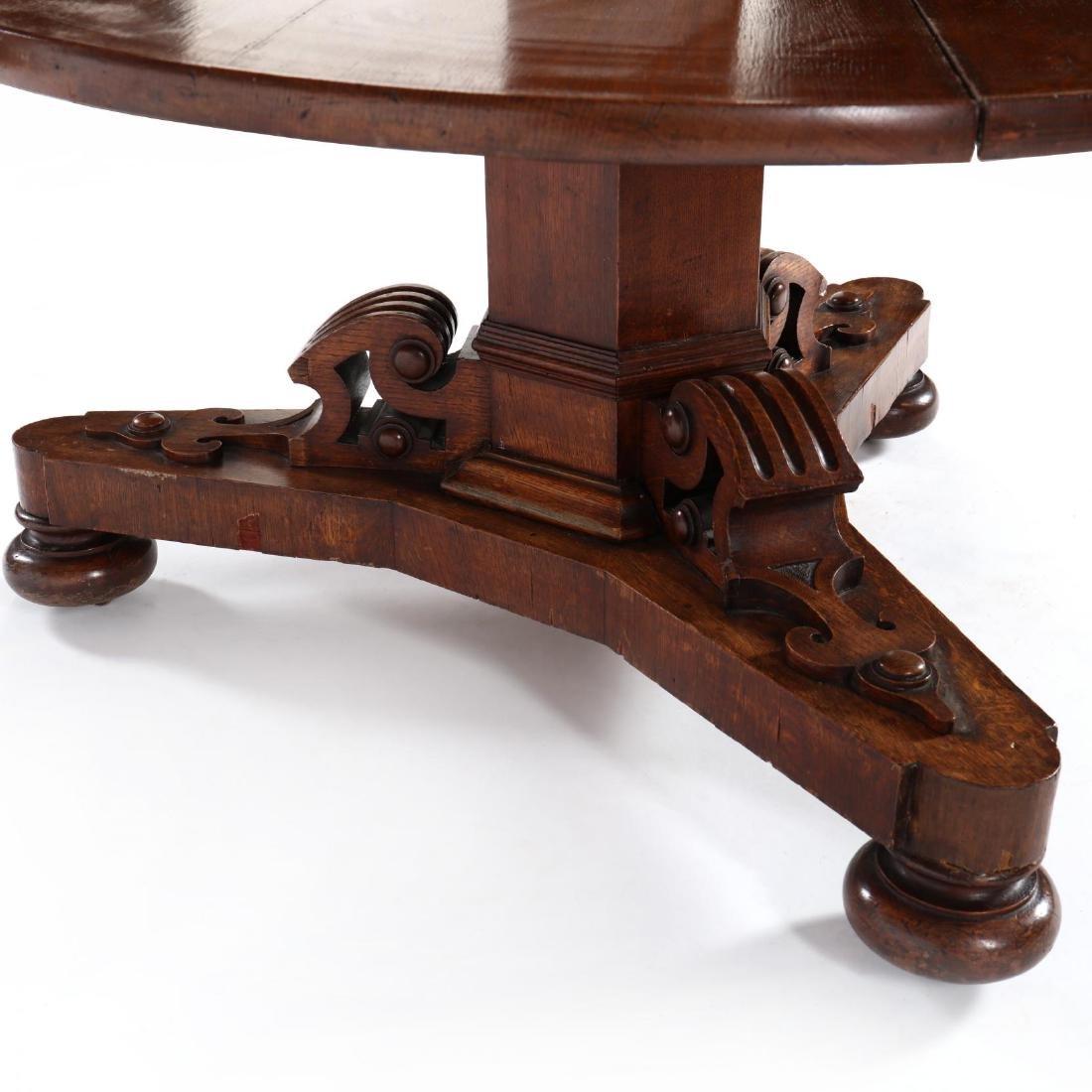Edwardian Oak Metamorphic Tiered Serving Table - 7