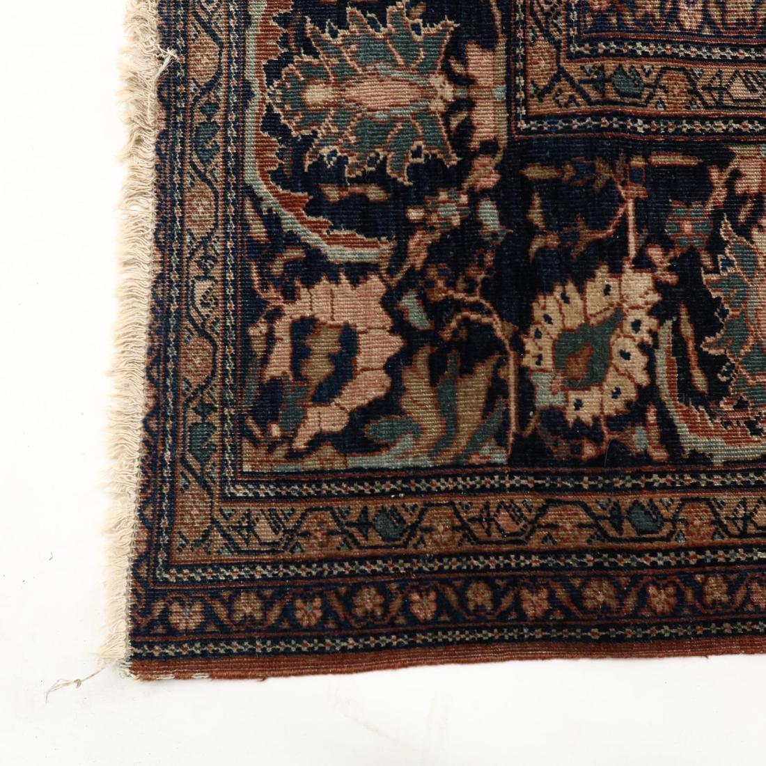 Antique Feraghan Sarouk Carpet - 4