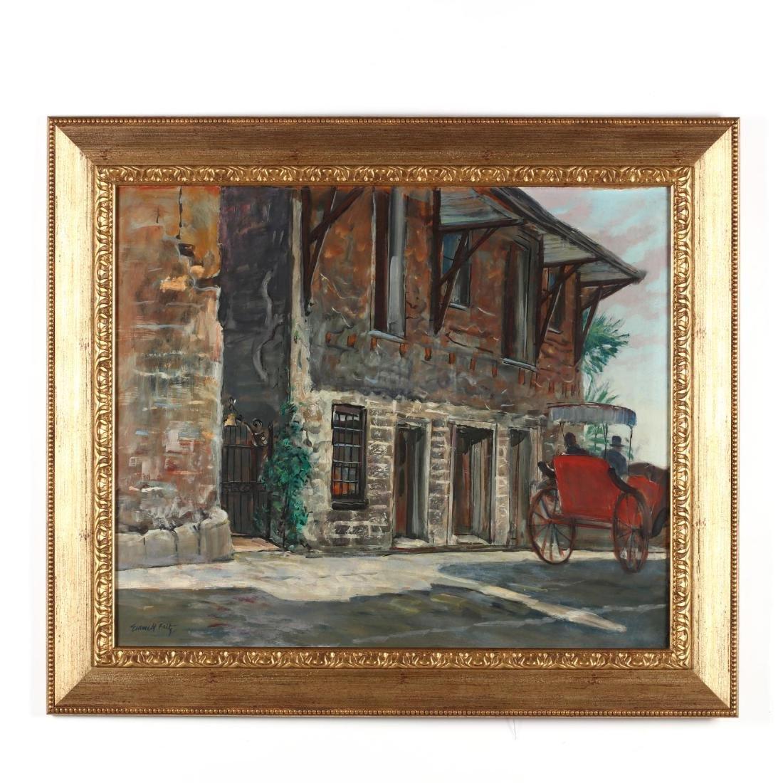 Emmett John Fritz (FL/NY, 1917-1995),  Old Spanish Inn,
