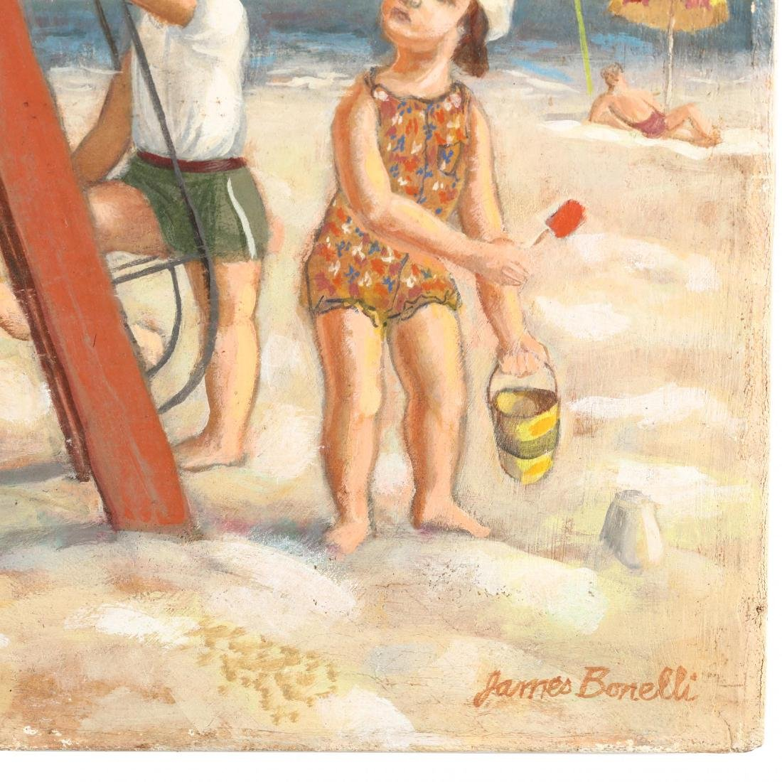 James Bonelli (PA, 1916-2000),  Beach Playground - 2