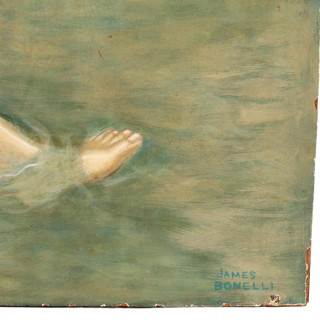 James Bonelli (PA, 1916-2000),  Country Bathers - 3