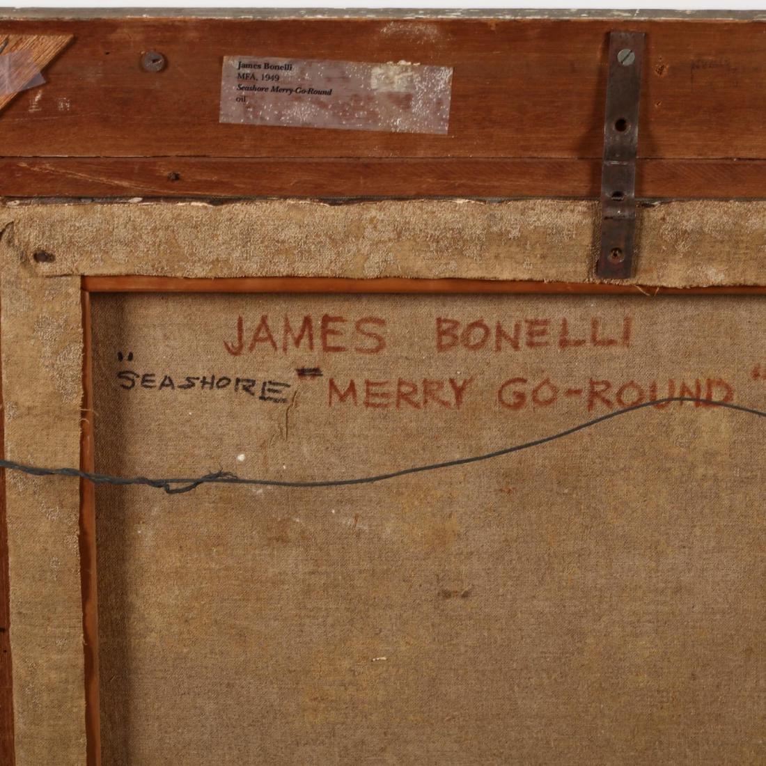 James Bonelli (PA, 1916-2000),  Seashore Merry-Go-Round - 4
