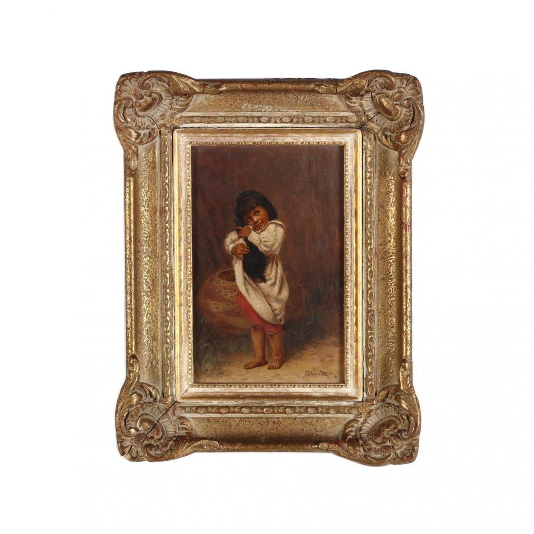 """Grace Carpenter Hudson (CA, 1865-1937), #182 """"Johnson"""