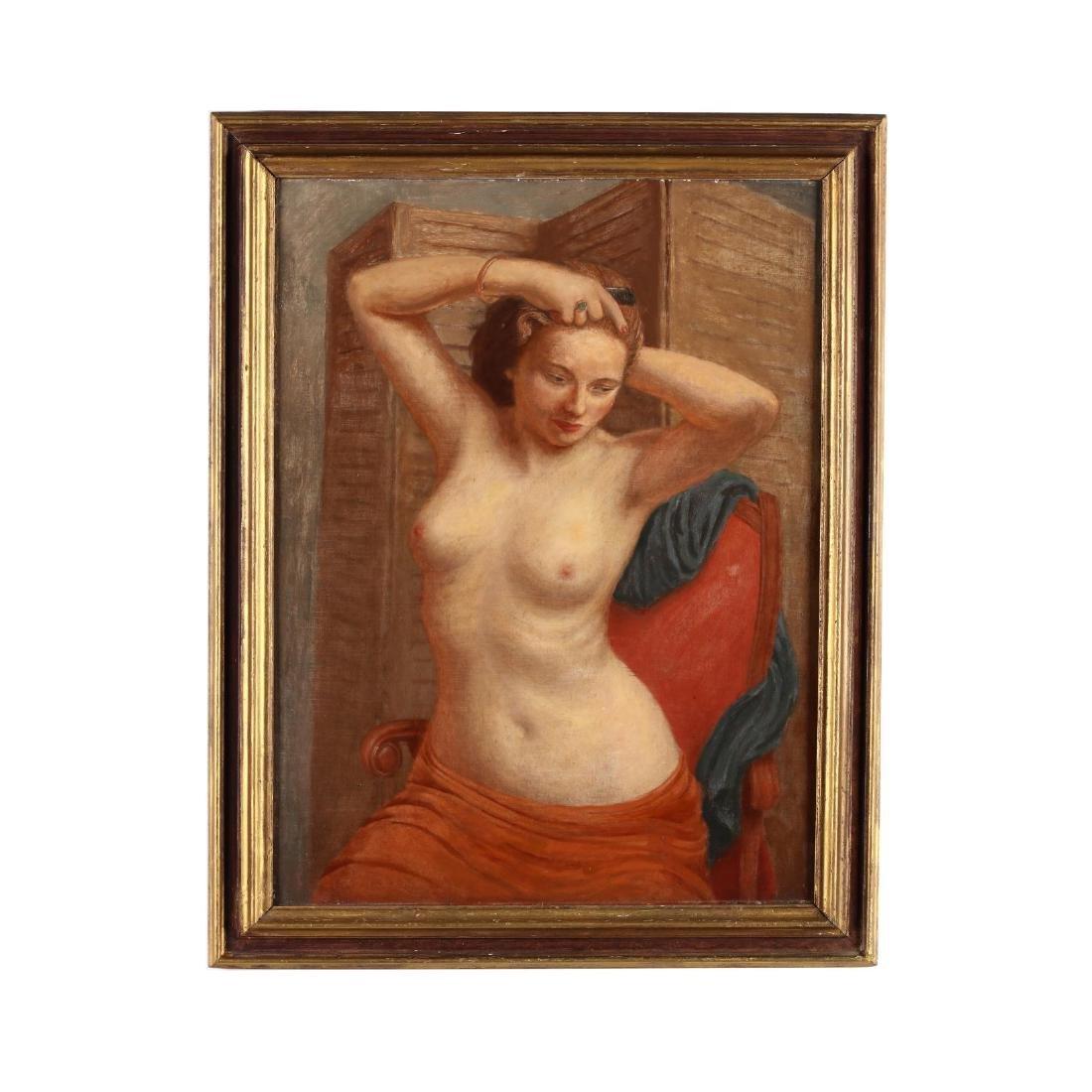 Douglas Gorsline (NY, 1913-1985), Female Nude