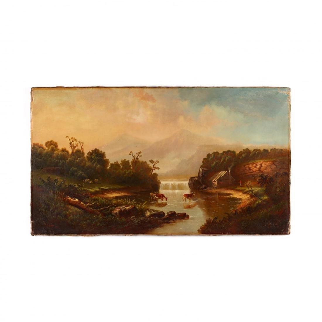 Samuel P. Dyke (PA, 1835-1870), Cattle Watering