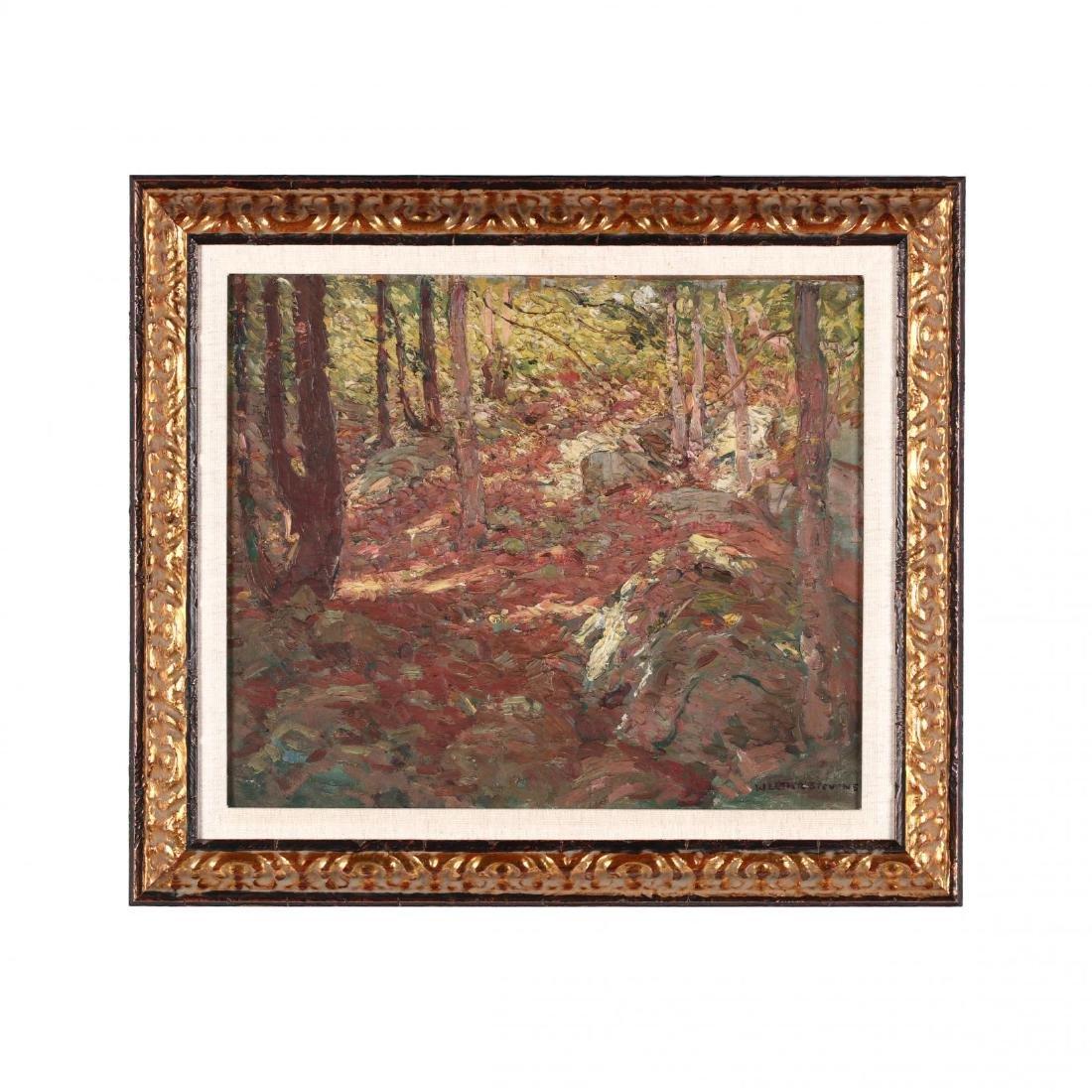 William Lester Stevens (MA, 1888-1969), Forest Interior