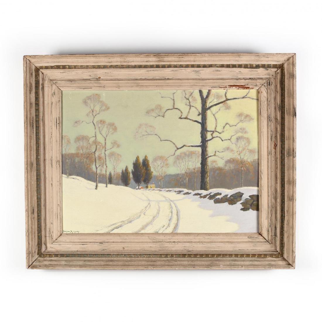 Benson B. Moore (D.C./FL, 1882-1974),  Winter Morning
