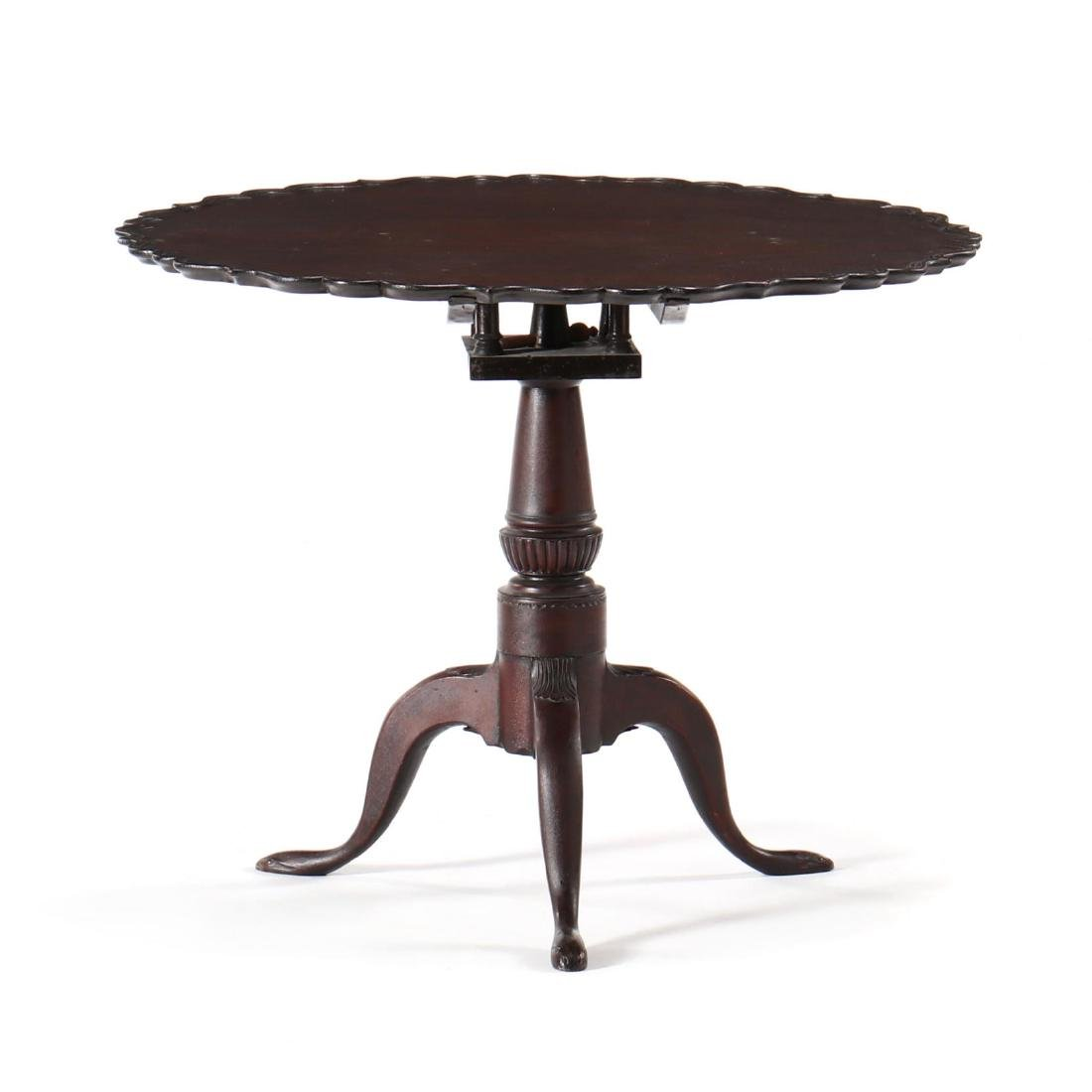 New England Queen Anne Tilt Top Tea Table