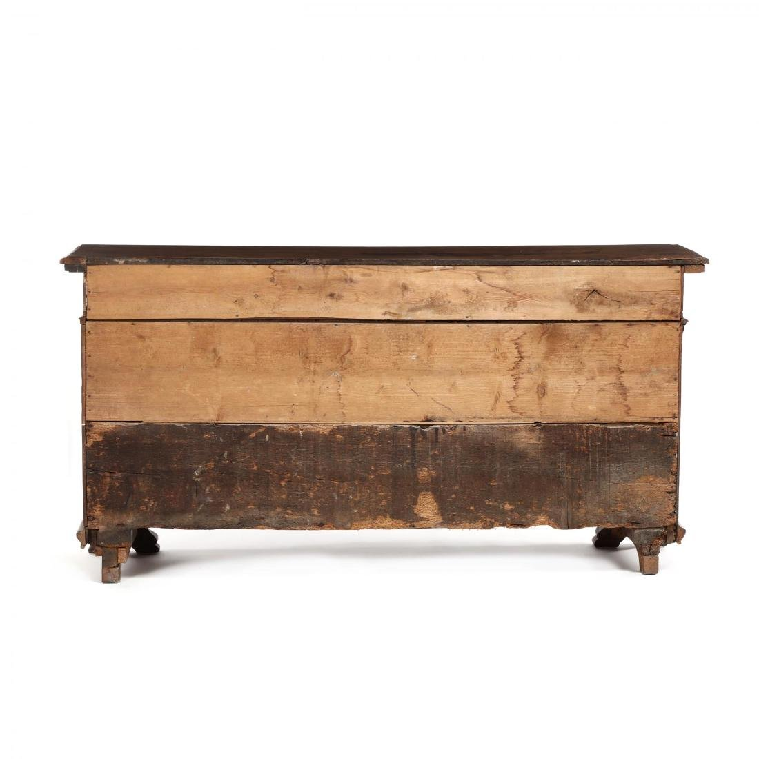 Continental Walnut Carved Sideboard - 7