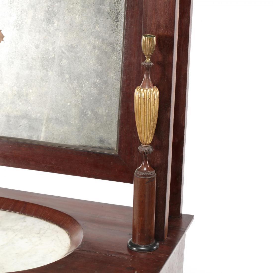 Russian Neoclassical Mahogany Dressing Table - 4