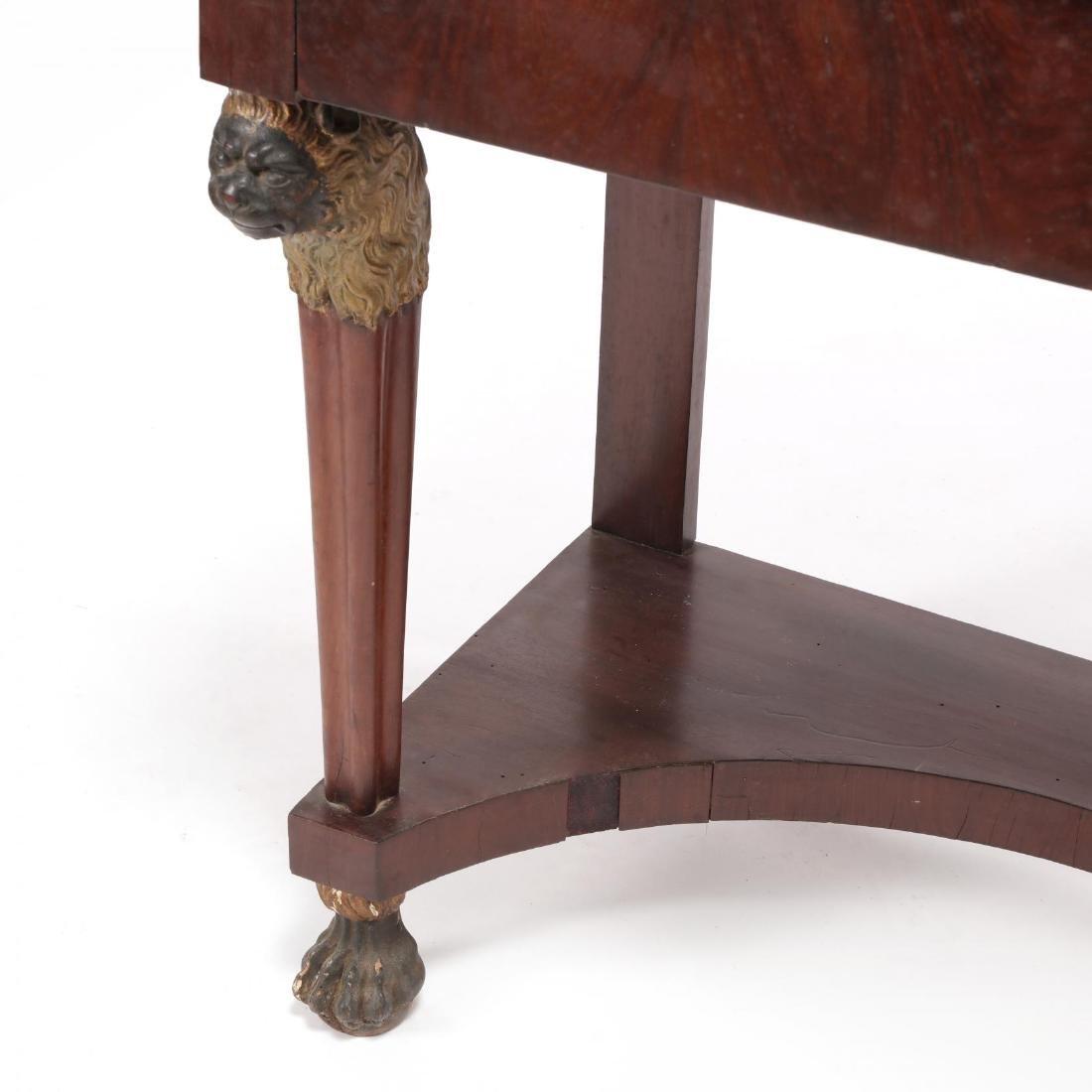Russian Neoclassical Mahogany Dressing Table - 6