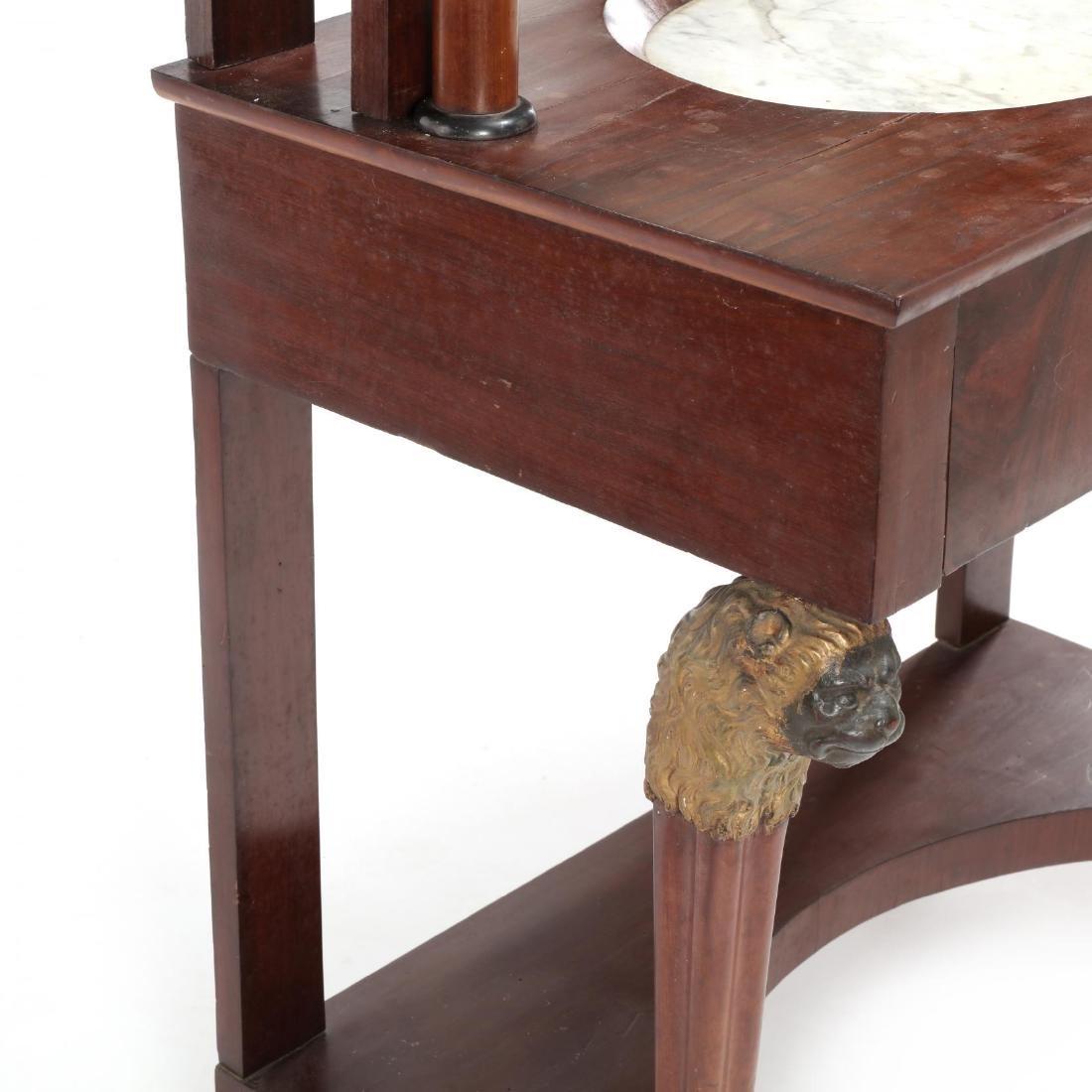Russian Neoclassical Mahogany Dressing Table - 7