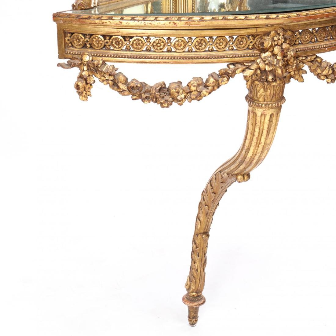 Louis XV Style Carved and Gilt Corner Etagere - 2