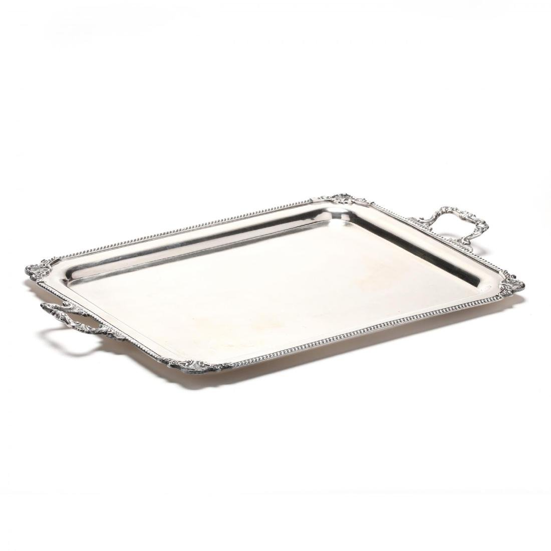 An American Sterling Silver Hostess Tray