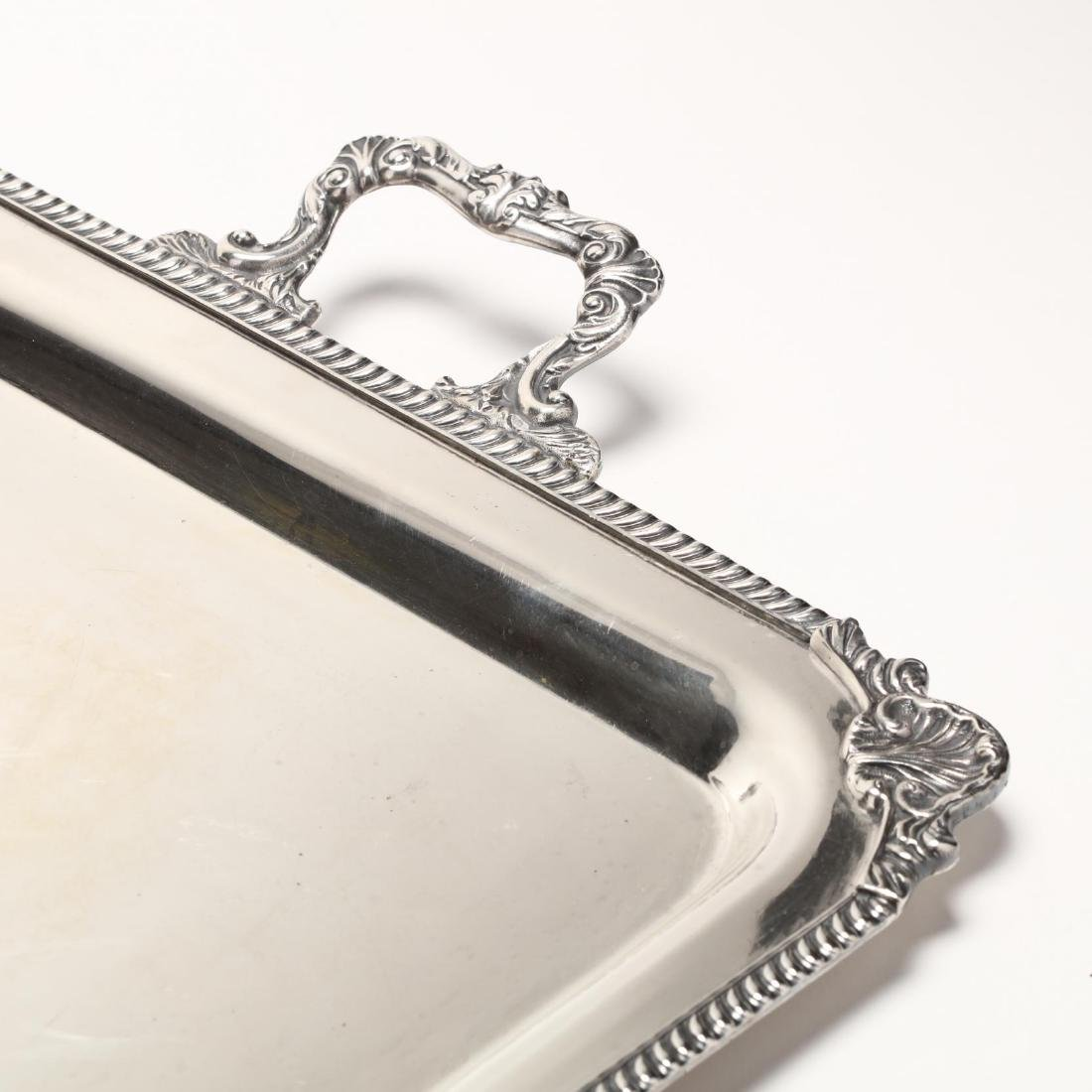 An American Sterling Silver Hostess Tray - 2