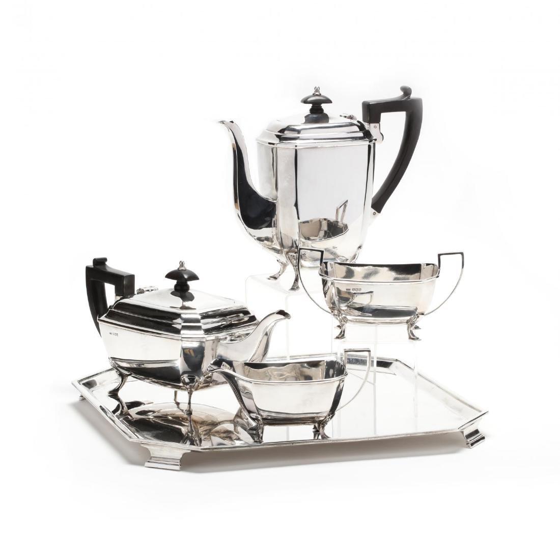 Elizabeth II Silver Tea & Coffee Service in the Art