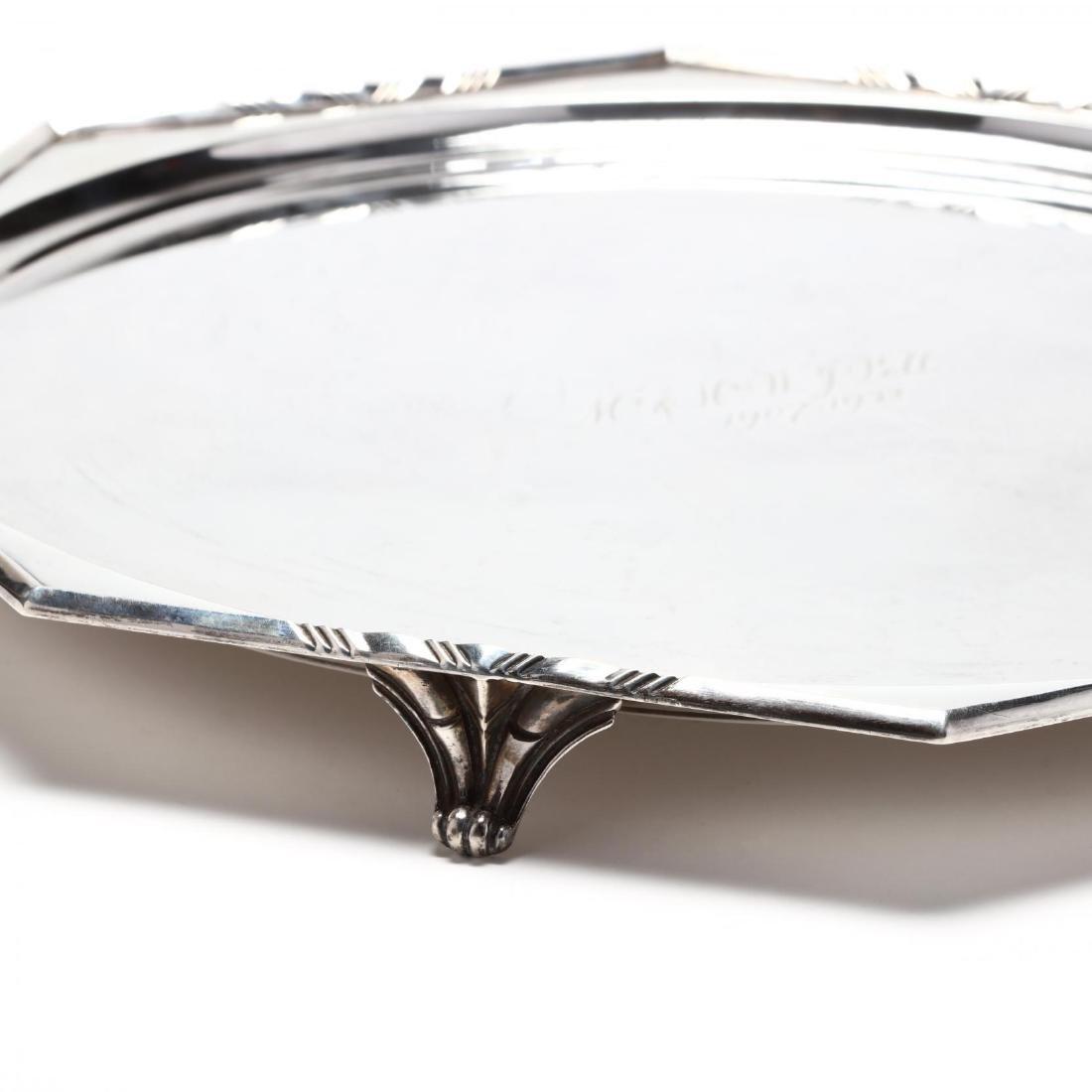 A George V Silver Salver - 2