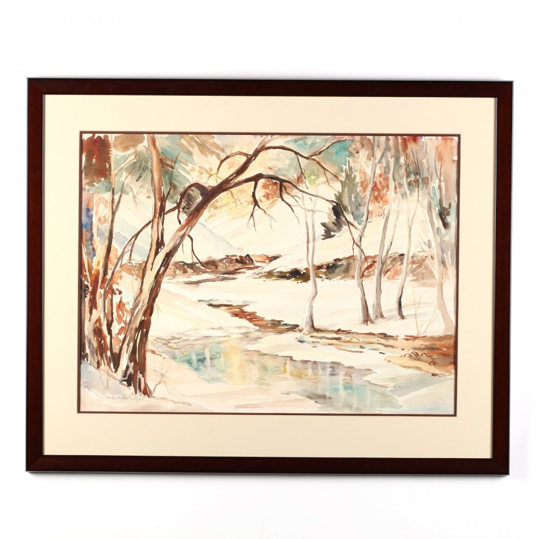Freda Widder Ledford, Winter Stream