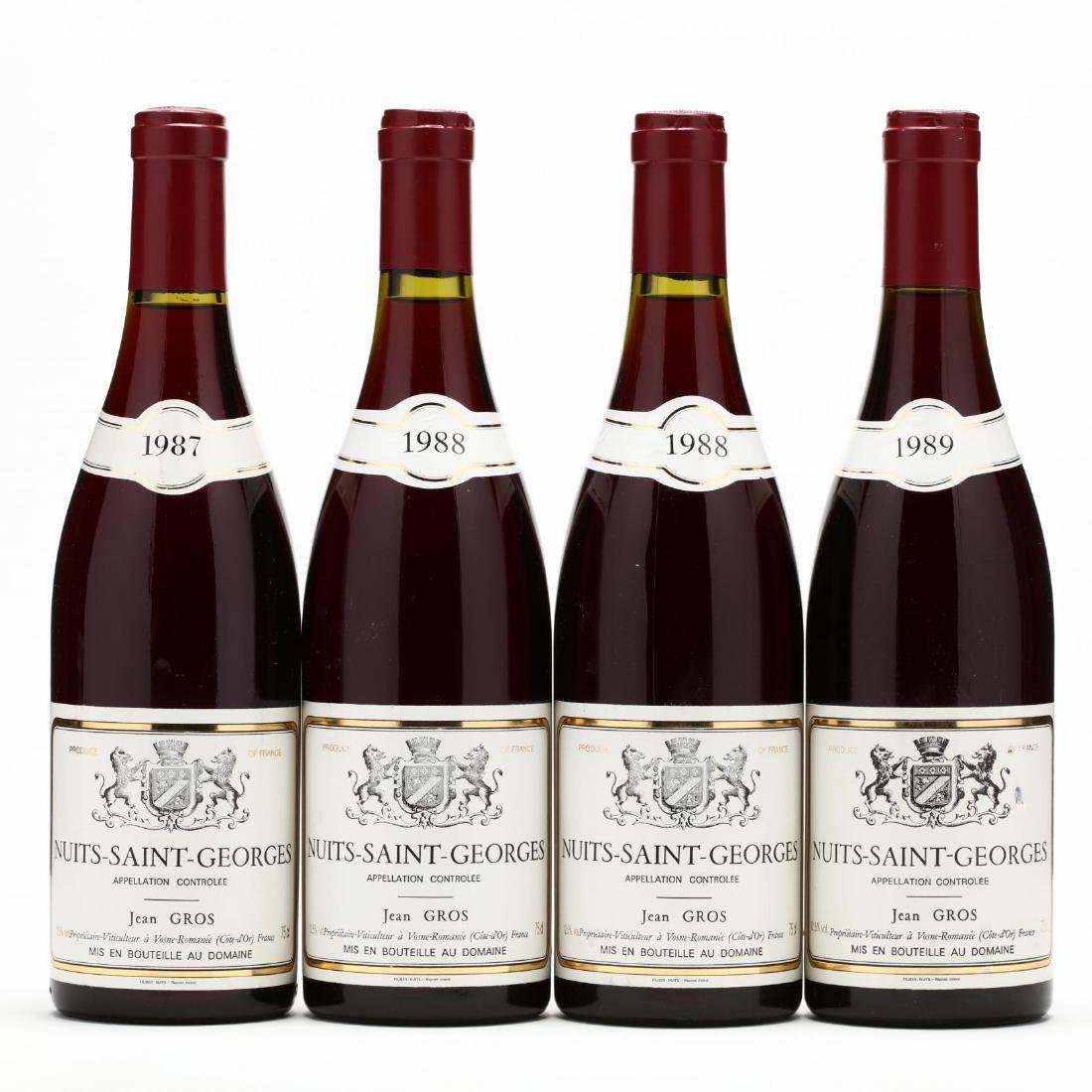 1987-1989 Nuits St. Georges Vertical