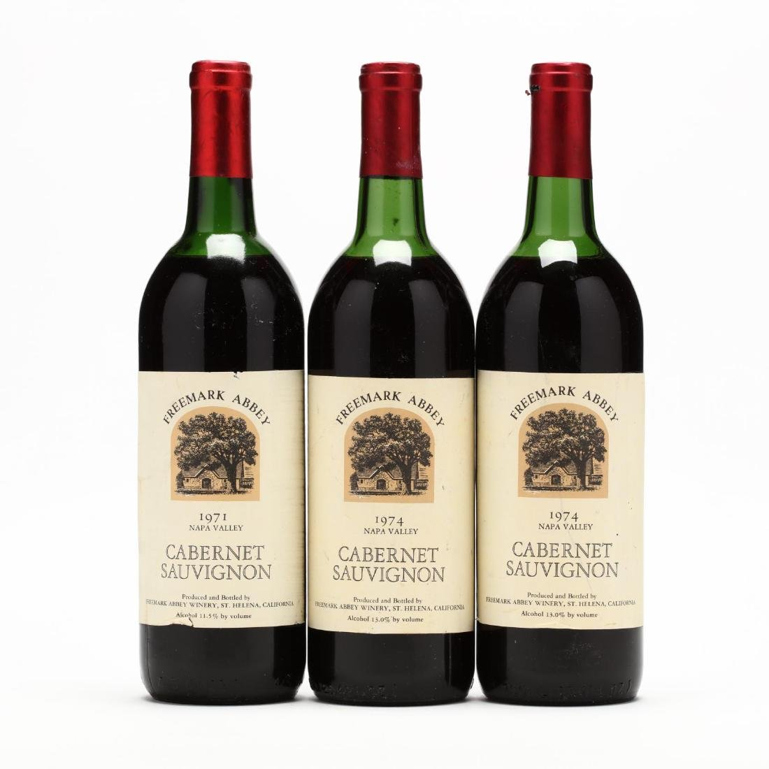 1971 & 1974 Freemark Abbey Winery