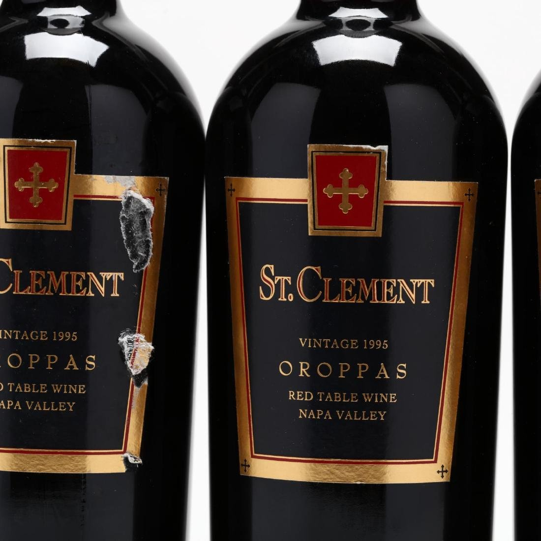 St. Clement Vineyards - Vintage 1995 - 2