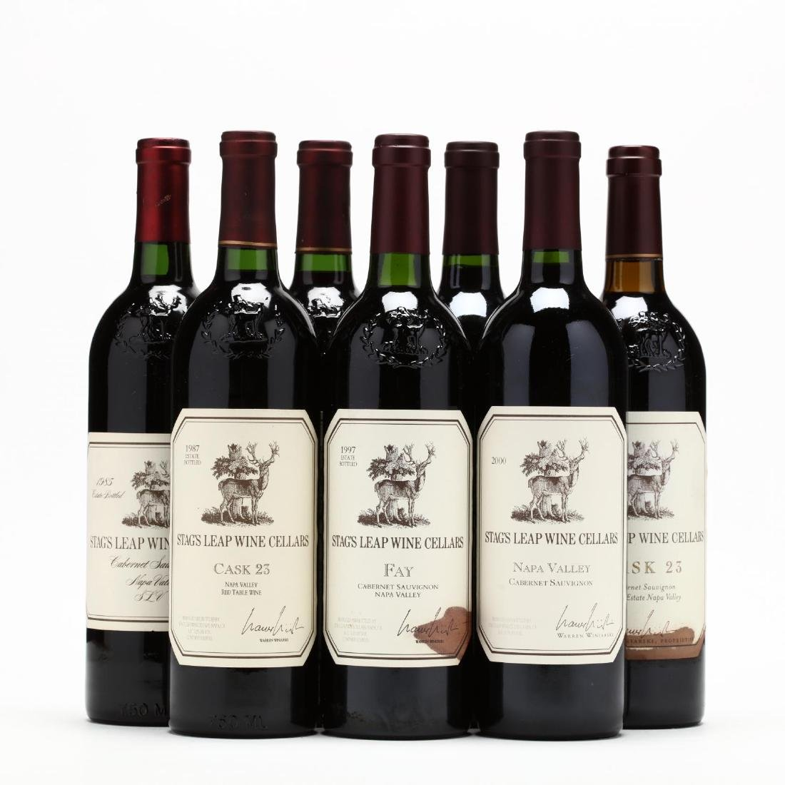 1985, 1987, 1997, 2000 & 2001 Stag's Leap Wine Cellars