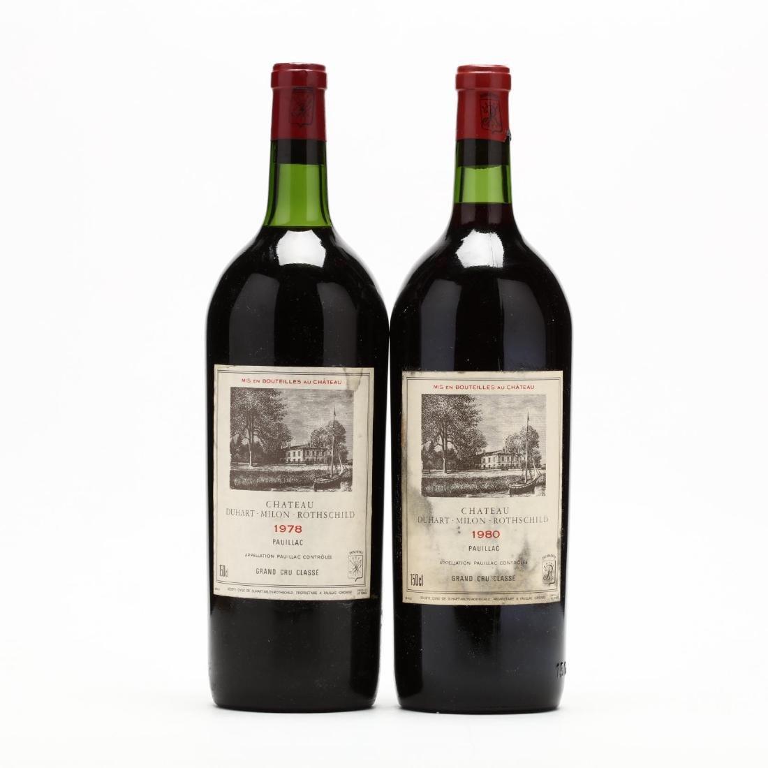 1978 & 1980 Chateau Duhart-Milon Magnums