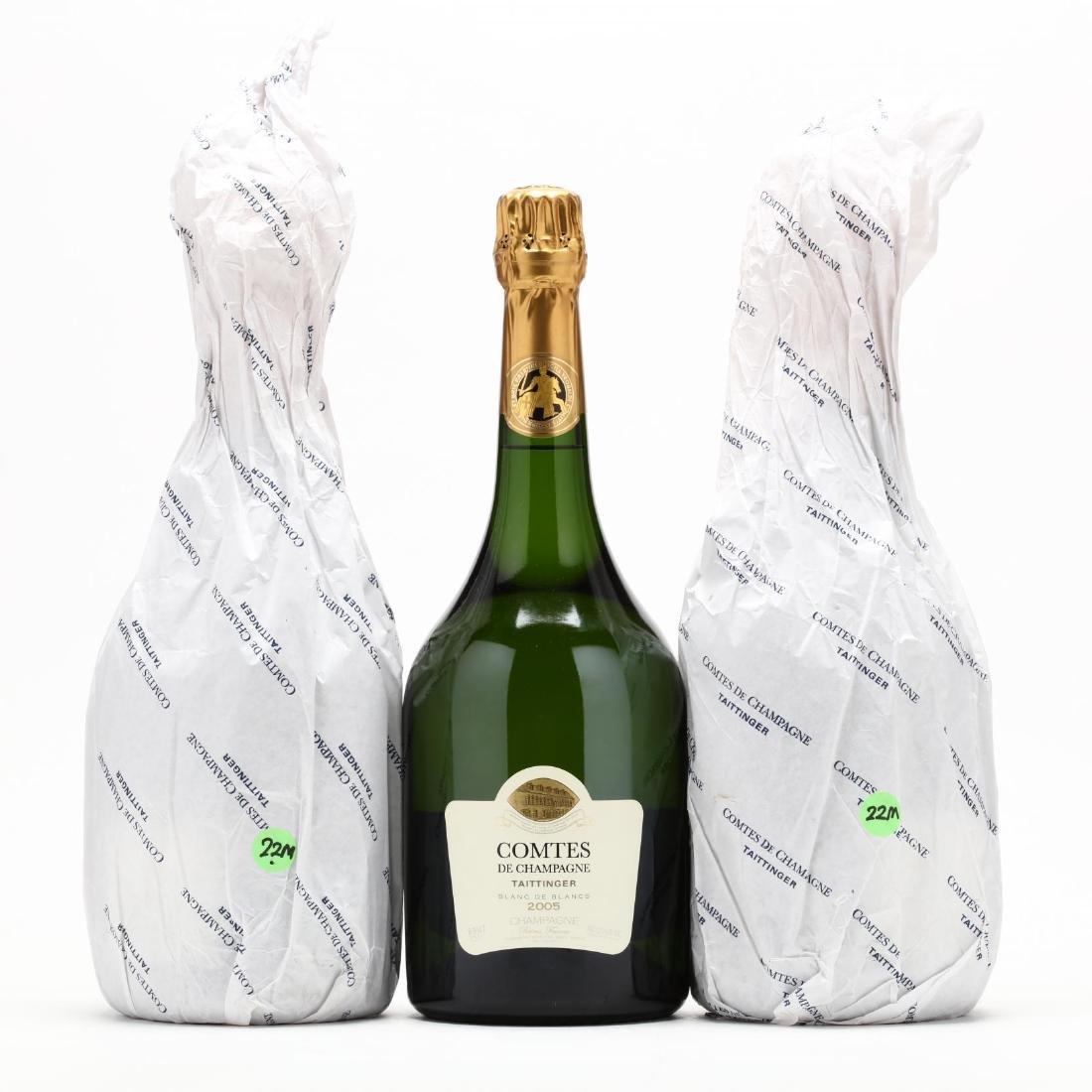 Taittinger Champagne Magnums - Vintage 2005