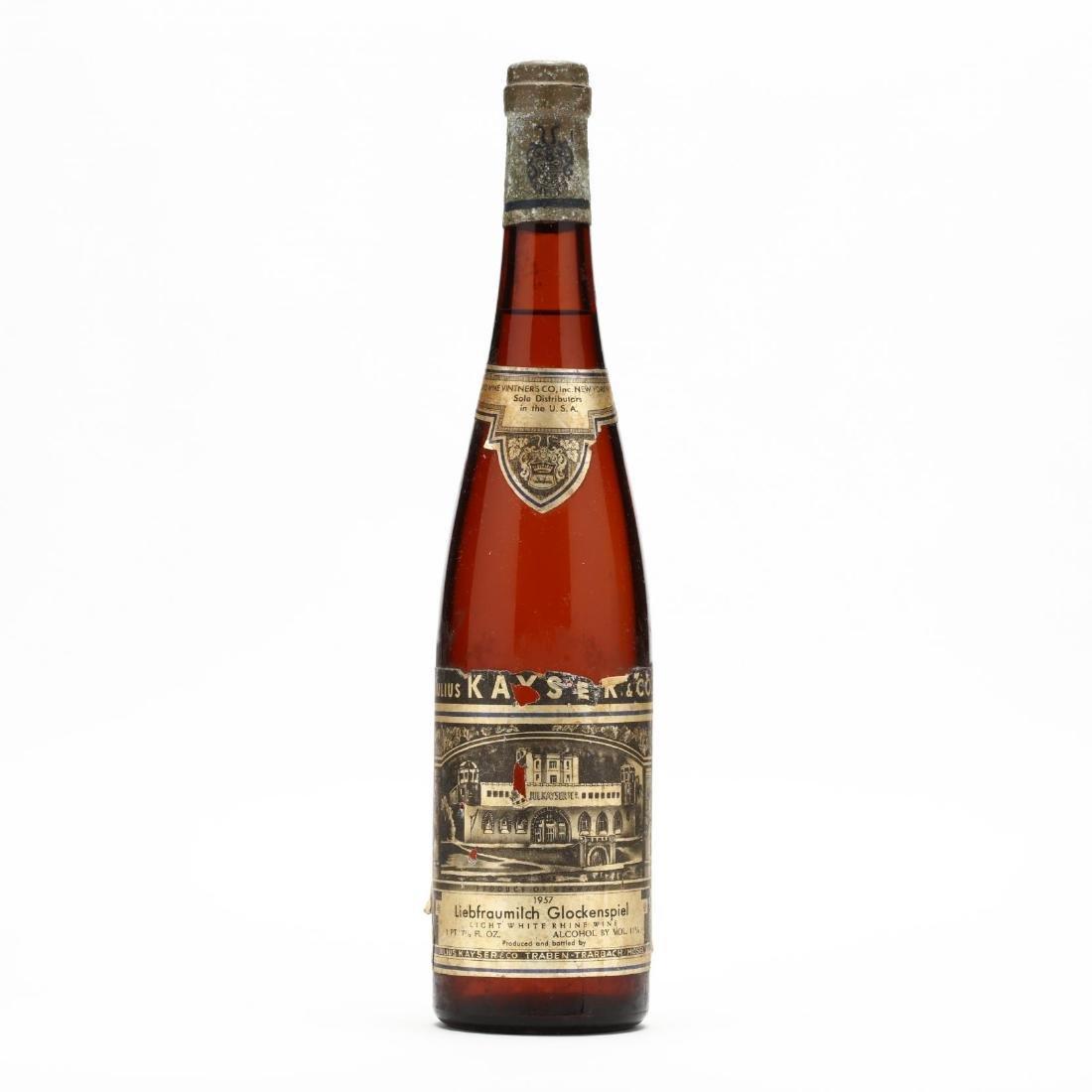 White Rhine Wine - Vintage 1957