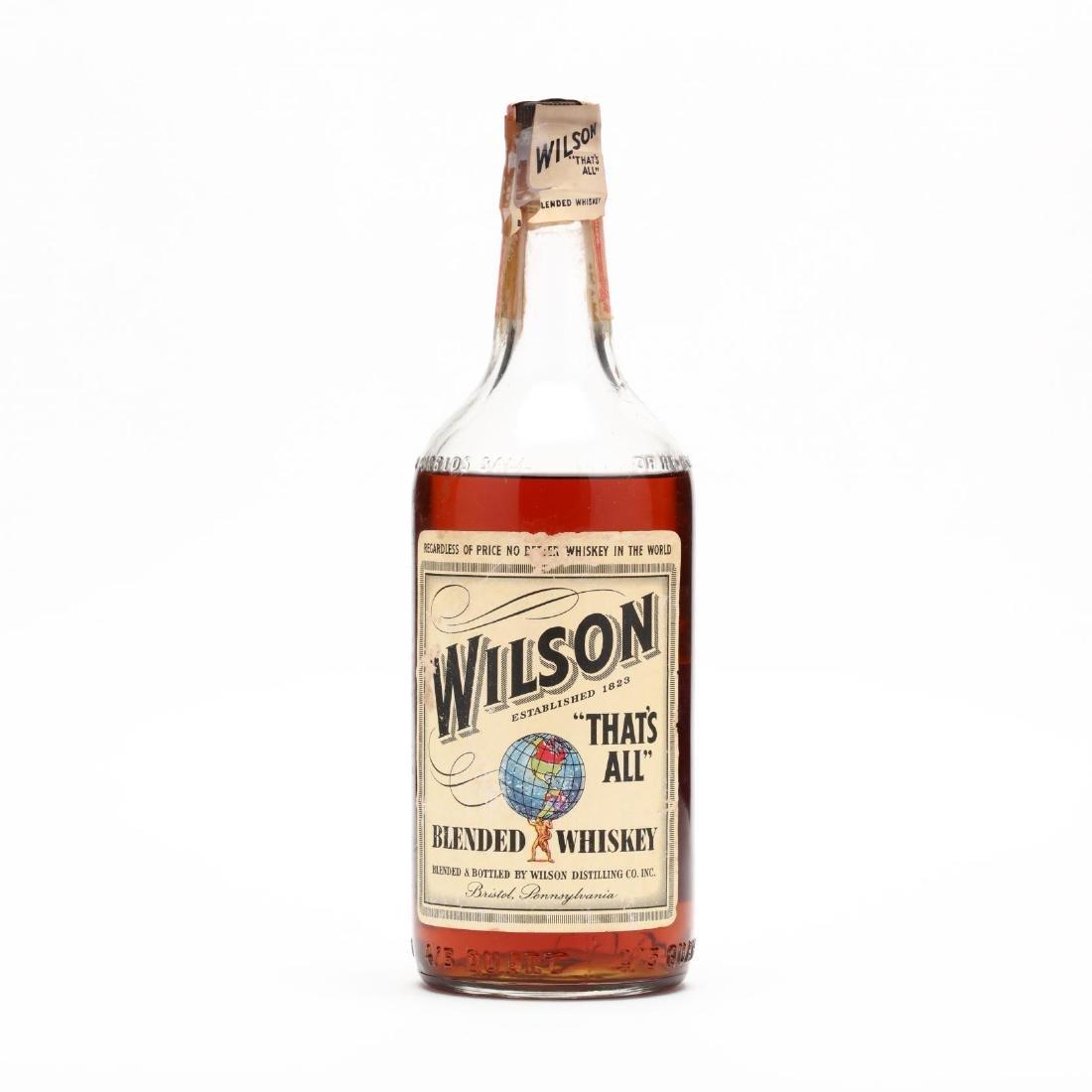 Wilson Blended Whiskey
