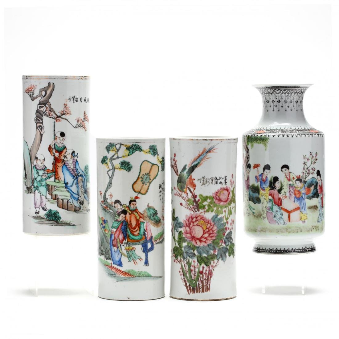 A Selection of Four Chinese Republic Period Porcelains