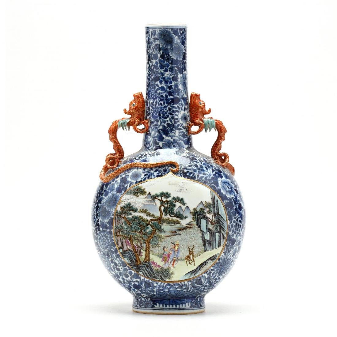 A Chinese Moon Flask Vase