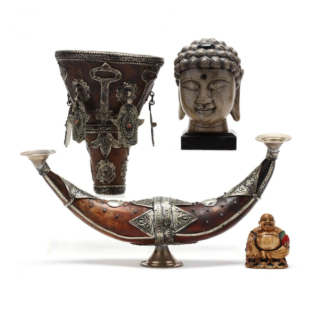 A Group of Southeast Asian Decorative Art