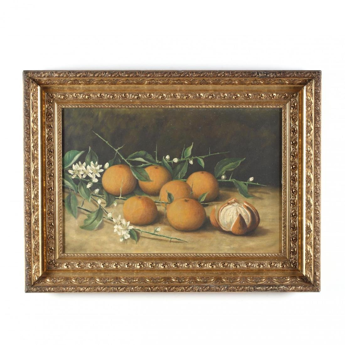 American School Still Life with Oranges