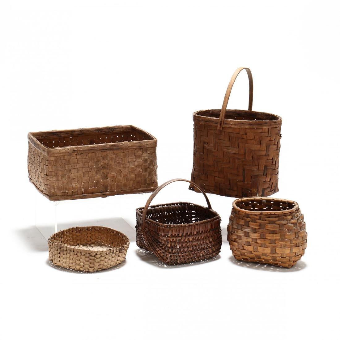 Five Farm Use Baskets