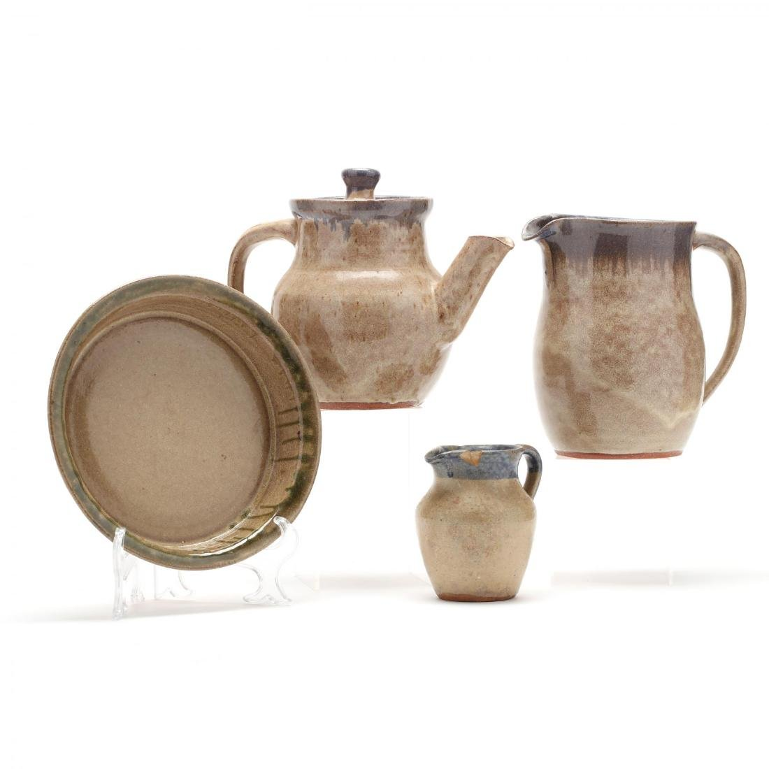 Four Hilton Pottery Tableware Vessels