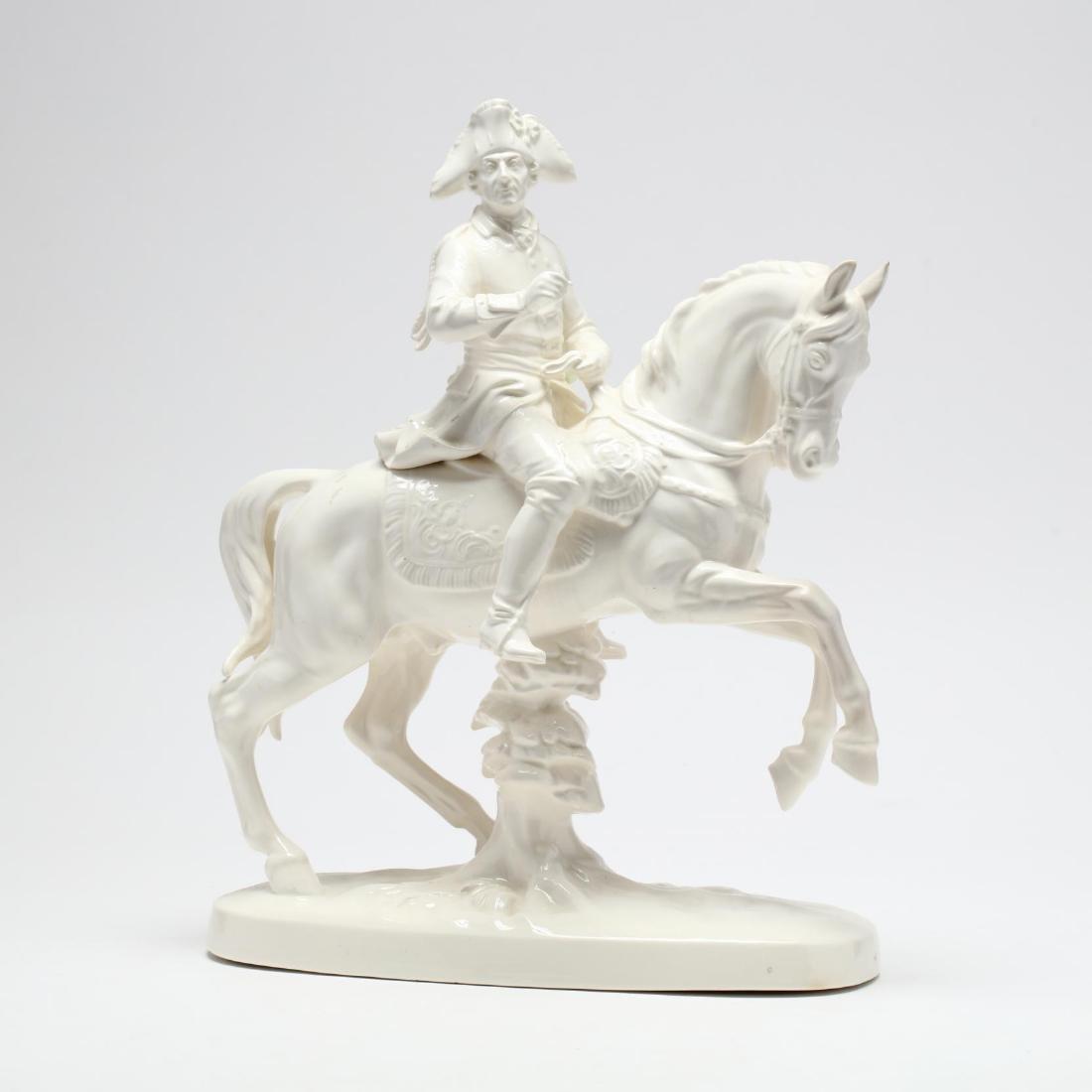 Katzhütte, Porcelain Figure of Fredrick the Great