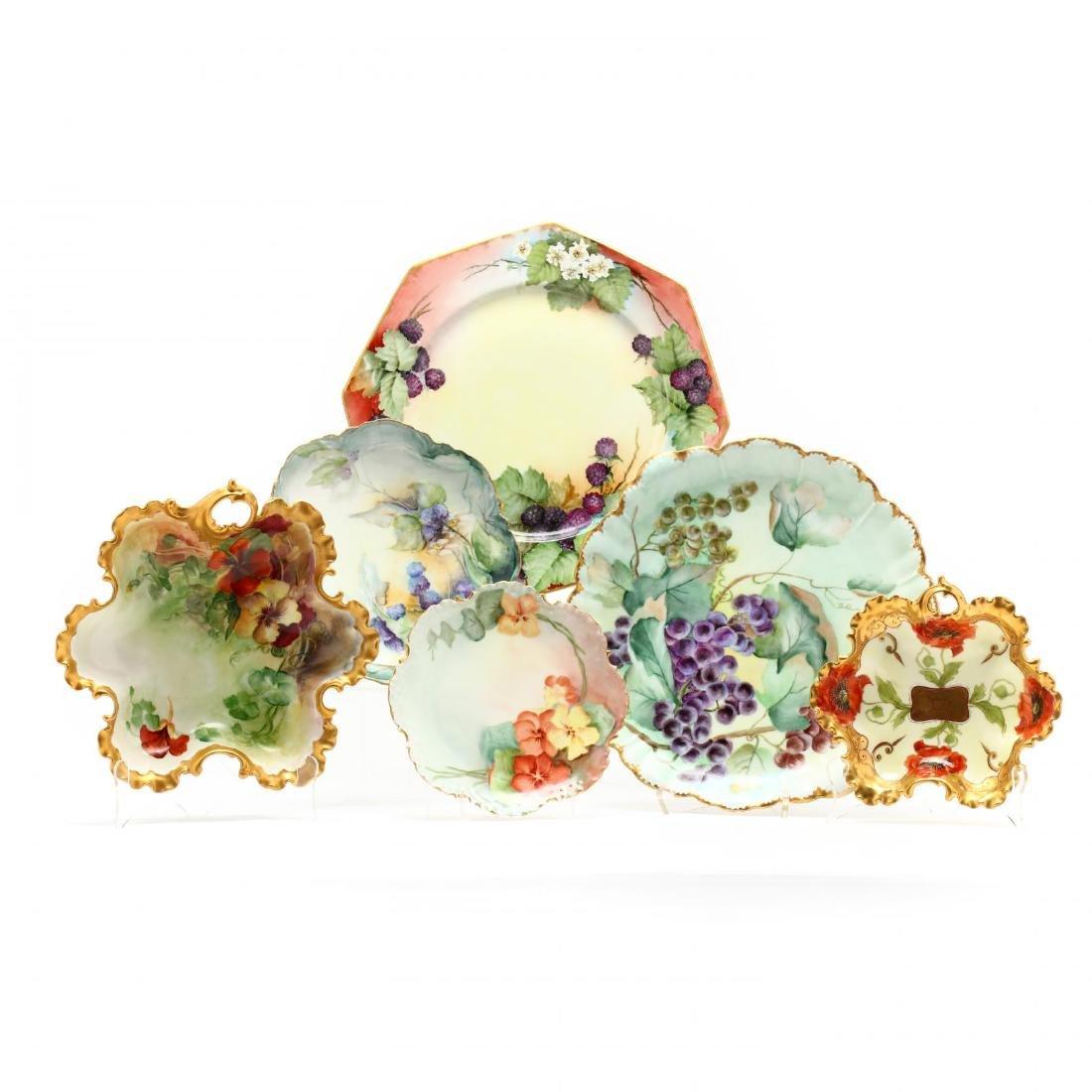 Continental Porcelain Set of Serving Platters