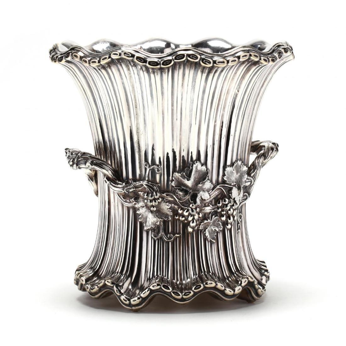 A Very Fine William IV Silverplate Wine Cooler