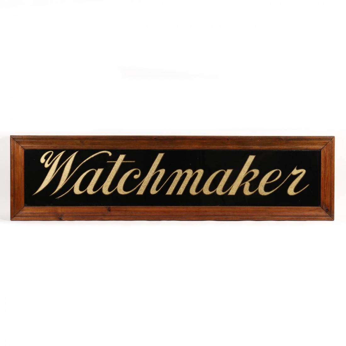 "Vintage ""Watchmaker"" Trade Sign"